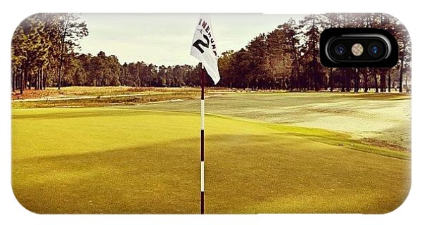 Sports iPhone Case - Pinehurst #2.. American Icon!! by Scott Pellegrin