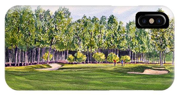 Pinehurst Golf Course 17th Hole IPhone Case