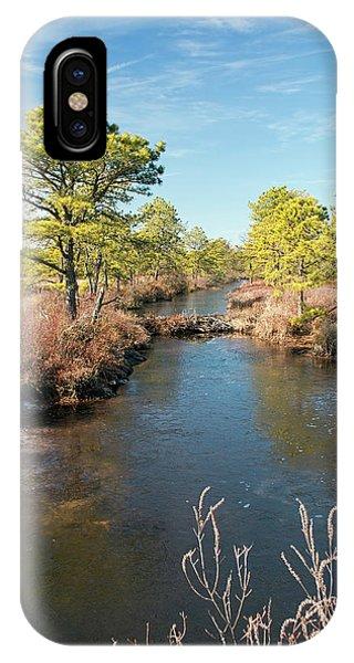 Pinelands Water Way IPhone Case