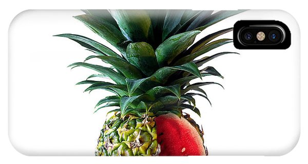 Pineapple iPhone Case - Pinemelon 2 by Carlos Caetano