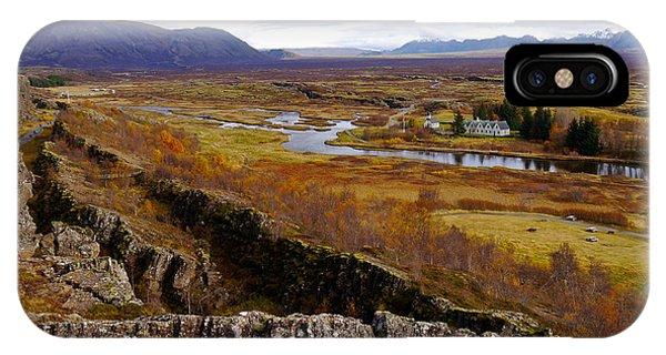 Pingvellir National Park Iceland IPhone Case
