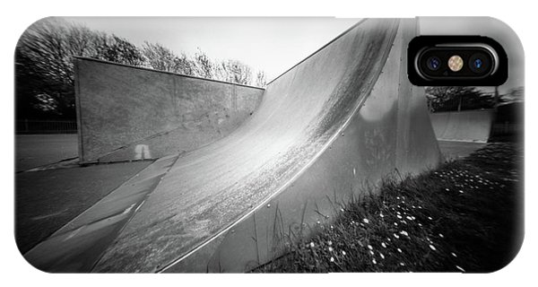 IPhone Case featuring the photograph Pinhole Ramp by Will Gudgeon