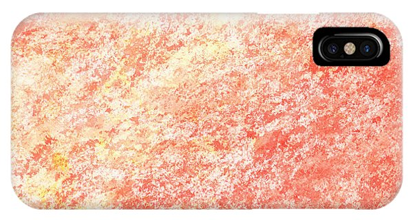Organic Abstraction iPhone Case - Pink Abstract  by Irina Sztukowski