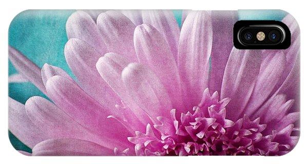Pink And Aqua IPhone Case