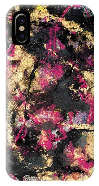Pink And Gold Merge IPhone Case