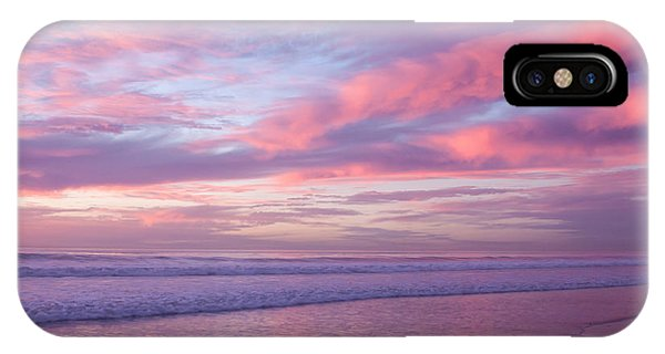 Pink And Lavender Sunset IPhone Case