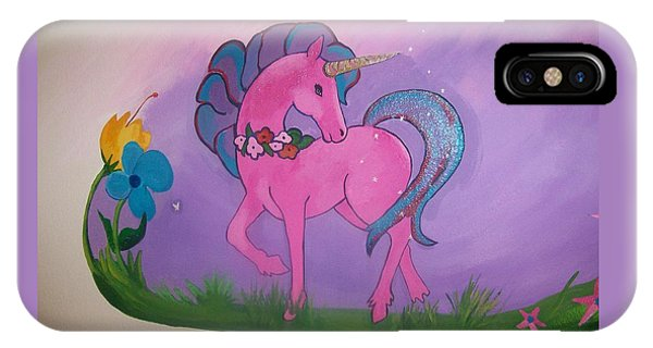 Pink And Purple Mural Phone Case by Kathleen Heese