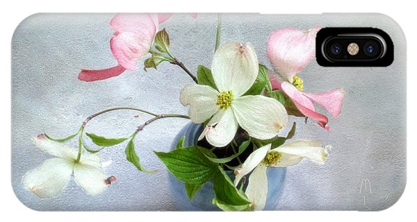 Pink And White Dogwood Still IPhone Case