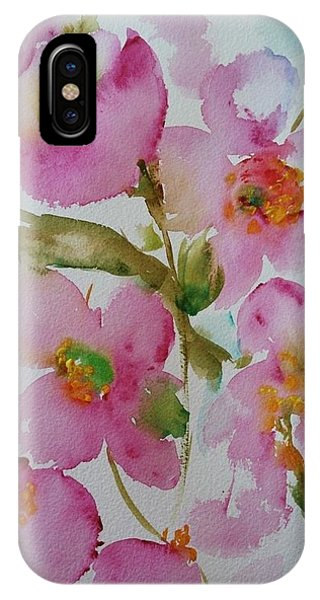 Pink Bloom IPhone Case