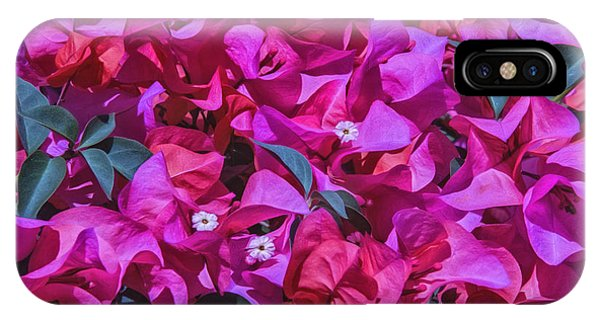 Pink Bougainvillea IPhone Case