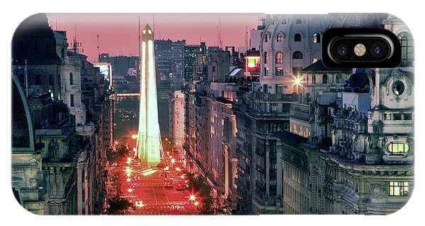 Pink Buenos Aires  IPhone Case