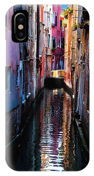 Pink Canal IPhone Case