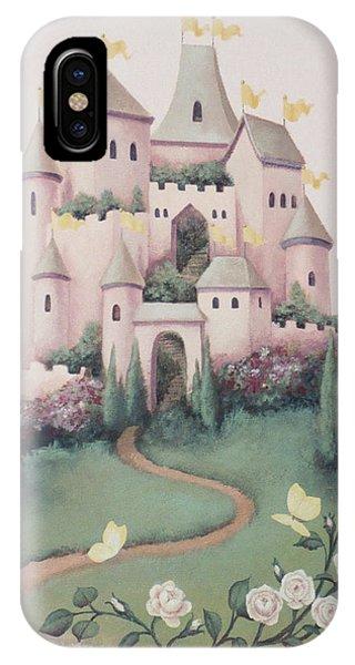 Pink Castle IPhone Case