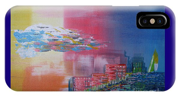 Pink Coast IPhone Case