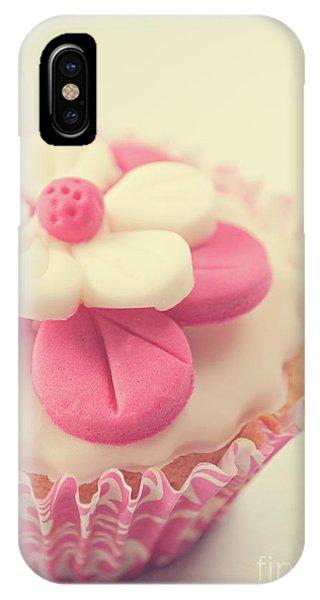 Pink Cupcake IPhone Case