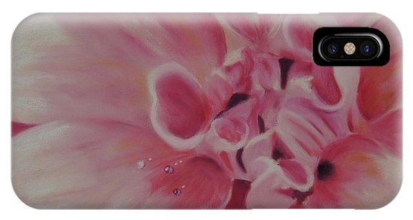 Pink Dahlia II IPhone Case