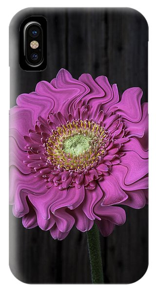 Surrealistic iPhone Case - Pink Daisy Surrealism by Garry Gay