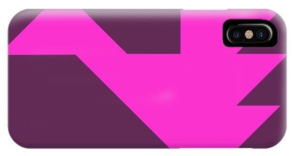 Swanky iPhone Case - Pink Dragon Tangram by Roman Pshenitsyn
