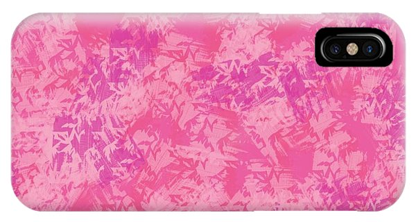 The Art Of Gandy iPhone Case - Pink Elegance by Joan Ellen Gandy