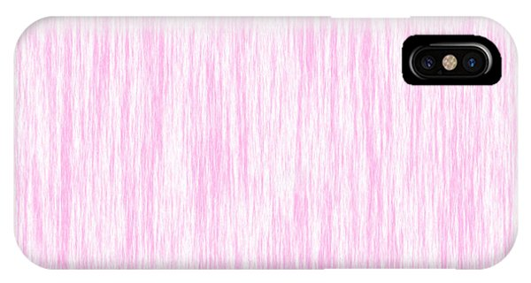 Pink Fiber IPhone Case