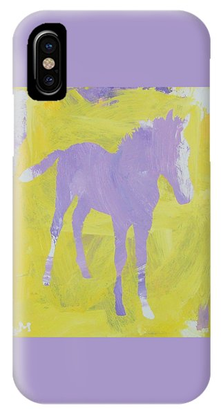 Pink Filly IPhone Case