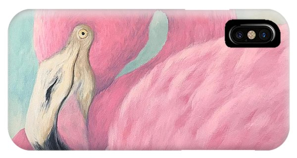 iPhone Case - Pink Flamingo V by Torrie Smiley