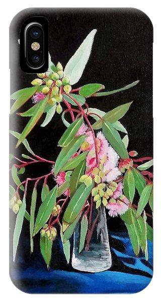 Pink Flowering Gum IPhone Case