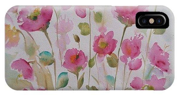 Pink Garden 2  IPhone Case