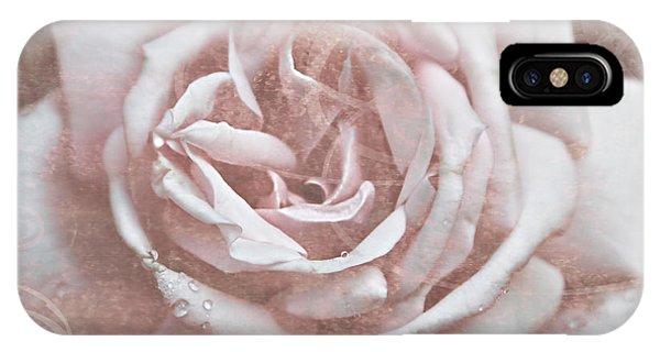 Pink Garden Rose IPhone Case