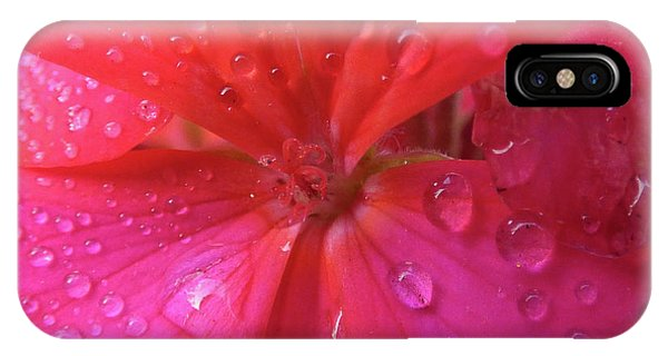 Pink Geranium IPhone Case