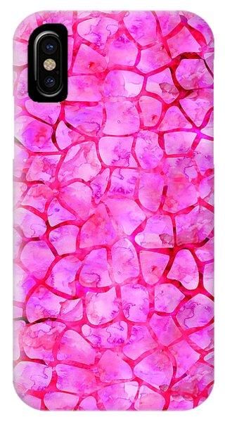 Pink Giraffe Print IPhone Case
