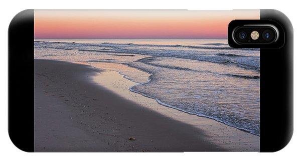 Pink Glow Seaside New Jersey 2017 IPhone Case