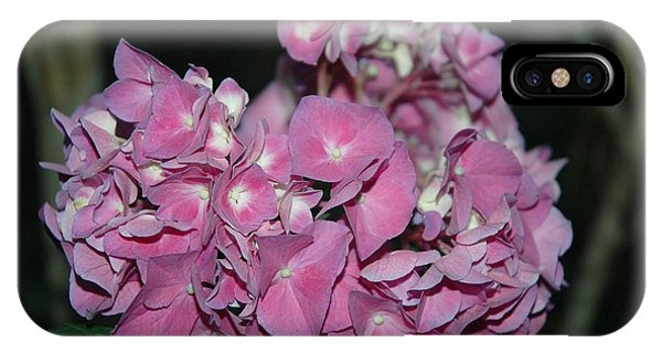 iPhone Case - Pink Hydrangea by Althea Sumpter