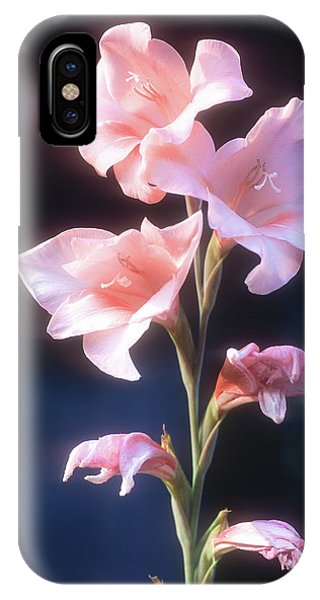 IPhone Case featuring the photograph Pink Iris by John Brink