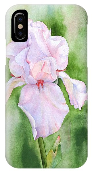 Pink Iris IPhone Case