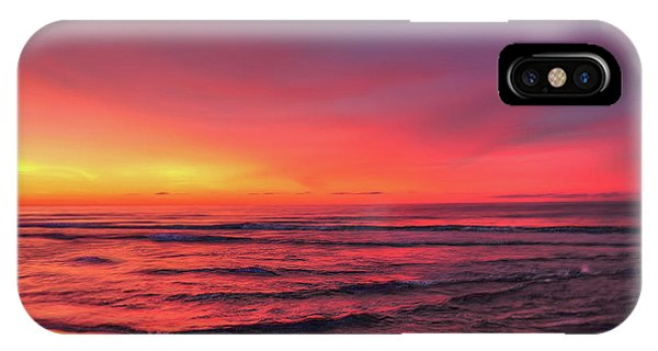 Pink Lbi Sunrise IPhone Case
