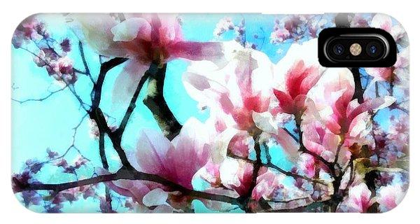 Pink Magnolia IPhone Case