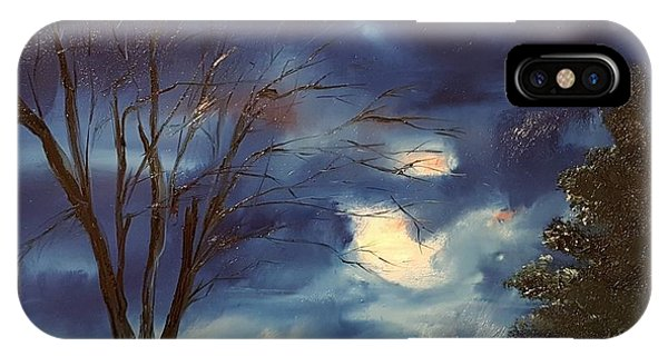 Pink Moon      19 IPhone Case
