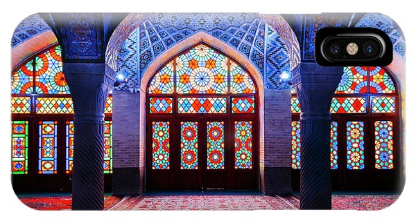 Pink Mosque, Iran IPhone Case
