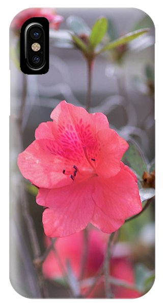 Pink Orange Flower IPhone Case
