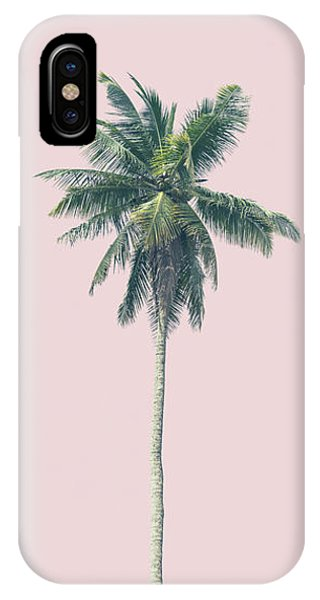 iPhone Case - Pink Palm by Andrew Paranavitana