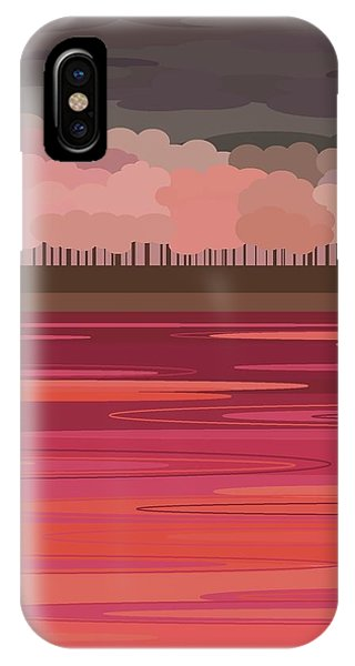 Pink Park IPhone Case