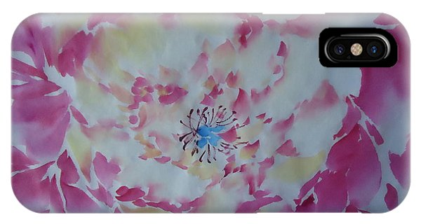 Pink Peony 002 IPhone Case