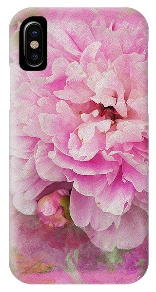 Pink Peony 2 IPhone Case