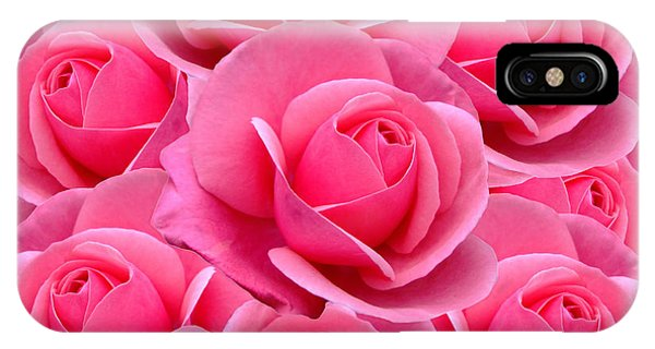 Pink Pink Roses IPhone Case
