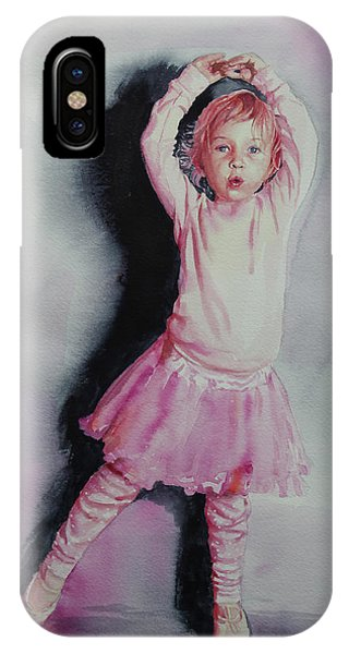 Pink Pirouette IPhone Case