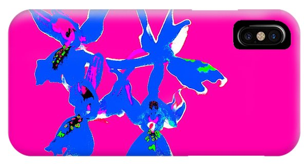 Pink Provence Orchid IPhone Case