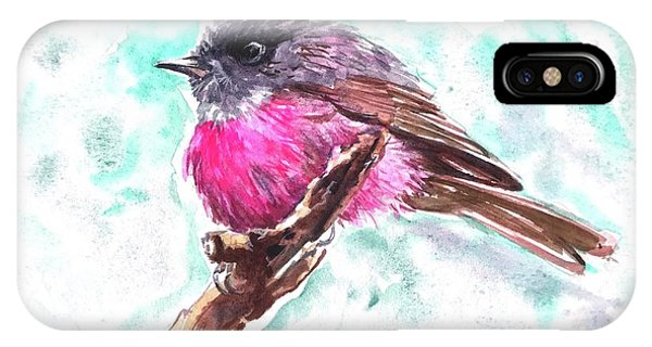 Pink Robin  IPhone Case