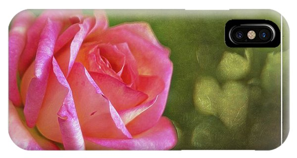 Pink Rose Dream Digital Art 3 IPhone Case