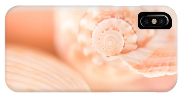 Pink Shell Pair IPhone Case